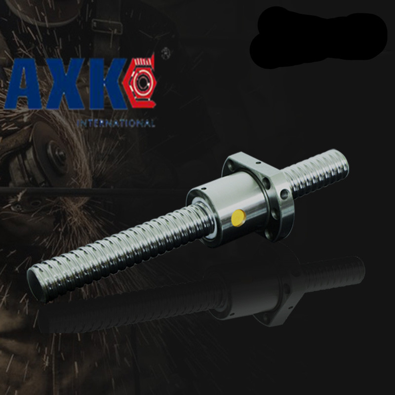 2017 Top Fashion New Bearing Rodamientos Rm1204 Ball Screw Sfu1204 L= 450mm Rolled Ballscrew With Single Ballnut For Cnc Parts 4pcs new for ball uff bes m18mg noc80b s04g