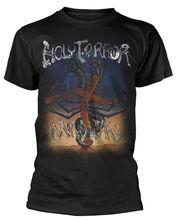 цены Printed T Shirts Cotton Men Crew Neck Heilige Terror 'Geist Kriege Short-Sleeve Shirts