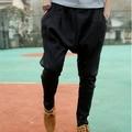 Мужчины Jogger pantalon homme Случайный Человек Joggings Брюки Плюс Размер Брюки Падение Промежность Гарем Спортивные Штаны Танцевать Хип-Хоп Брюки HO853931
