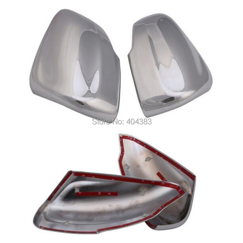 hot sale Car stickers Chromium Styling Chrome Side Door Rear view Mirrors Cover Trims 2pcs Exterior ABS For VOLVO XC60 2014 2015 car styling abs chrome body side moldings side door decoration for hyundai ix35