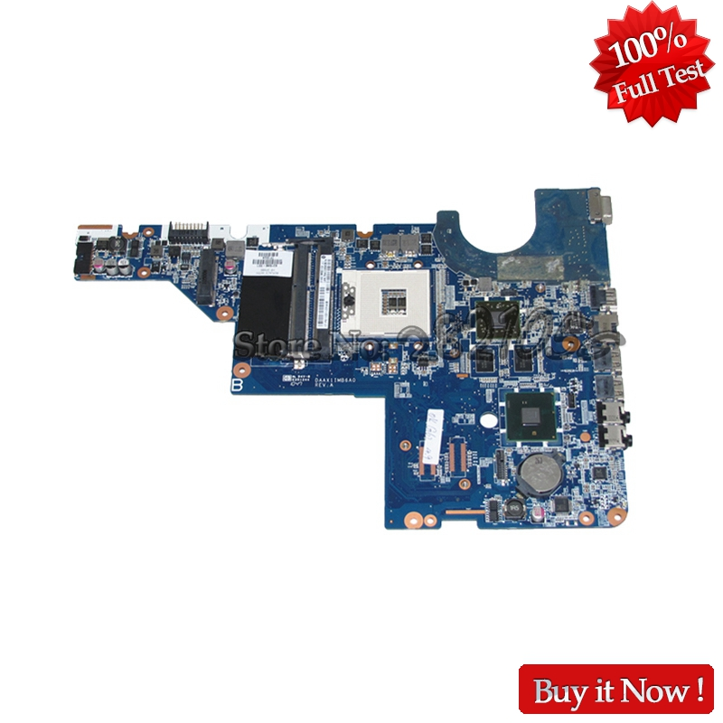 NOKOTION Laptop motherboard For HP G42 G42T 631596-001 HM55 DDR3 HD 6370M Graphics Mainboard nokotion original 773370 601 773370 001 laptop motherboard for hp envy 17 j01 17 j hm87 840m 2gb graphics memory mainboard
