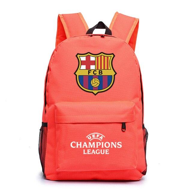 ef83c7b3271e Logo Champions Backpack Bag Men Boys Barcelona Travel Bag Teenagers School  Gift Kids Bagpack Mochila Bolsas Escolar