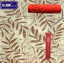 Darmowa wysyłka 7 #8222 calowy Wałek Do Malowania na Ścianie Dekoracji narzędzia Malarskie NR 056 model Płaskorzeźby wałek do malowania dekoracji ściany tanie tanio Farby zestawy narzędzi Farby i dekorowanie G.SB Przypadku NO 056