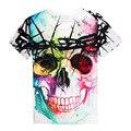3D Print Skulls Harajuku Animation 3D T shirt Brand T-shirt Hip Hop Summer Cool Tees Tops Brand Clothing 134