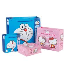 10pcs/set Creative Cartoon Cat Gift Bag Merry Christmas Birthday Bags Party Favour gift Packaging Paper