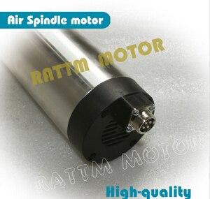 Image 4 - [STOCK Europeo] calidad 2,2 kW de husillo motor refrigerado por aire ER20 Runout off 0,01mm rodamiento de cerámica grabado molienda