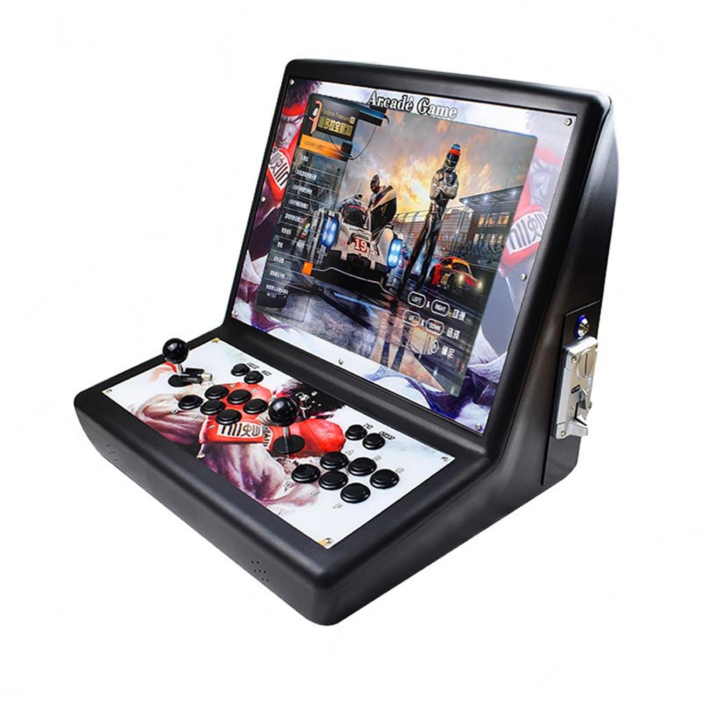 Mini Game Console Acrylic Arcade Cabinet Mini Game Machine 2200 Game
