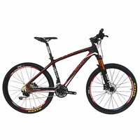 Beiou الكربون 26 بوصة الدراجة الجبلية 30 سرعة شي مانو m610 deore mtb محاور ألياف خفيفة 10.7 كيلوجرام t800 الكربون ماتي 3 كيلو CB025A