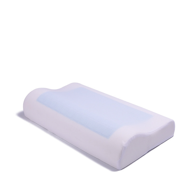 L096-KAYIYO 50X30cm Summer Cooling Gel Memory Foam Pillow Comfortable and Pain Relief Orthopedic Neck Pillow with Washable Pillowcase (4)