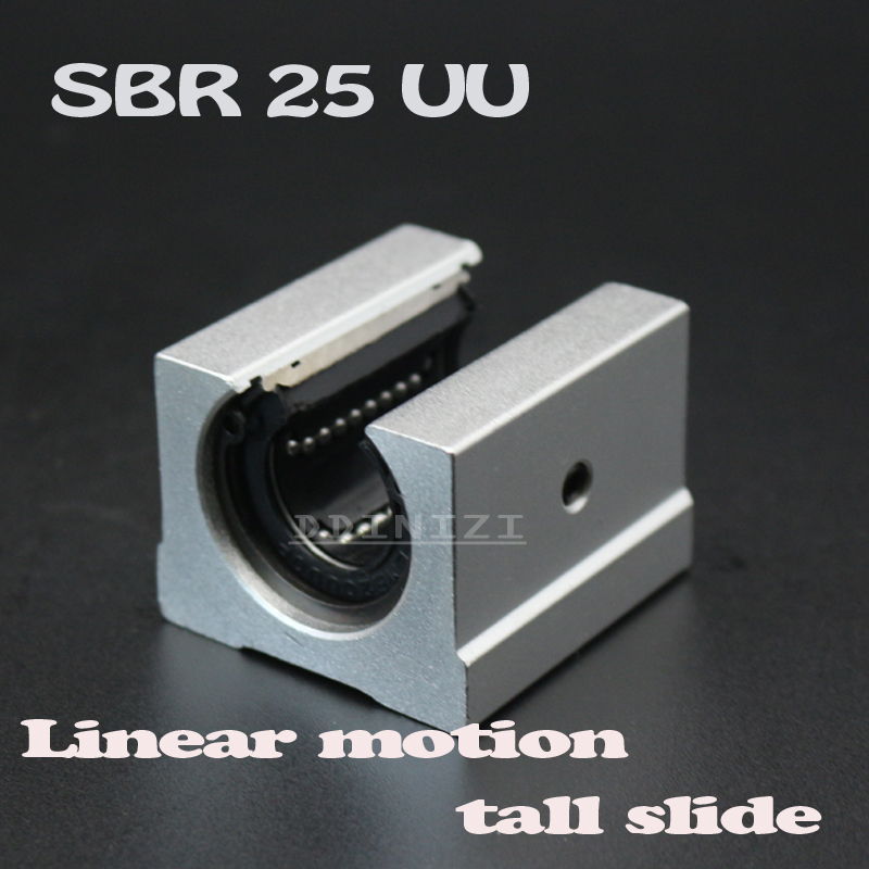 <font><b>SBR25</b></font> SBR25UU 25mm <font><b>Linear</b></font> Ball Bearing Block <font><b>Linear</b></font> <font><b>rail</b></font> For CNC <font><b>Linear</b></font> guide Free Shipping image