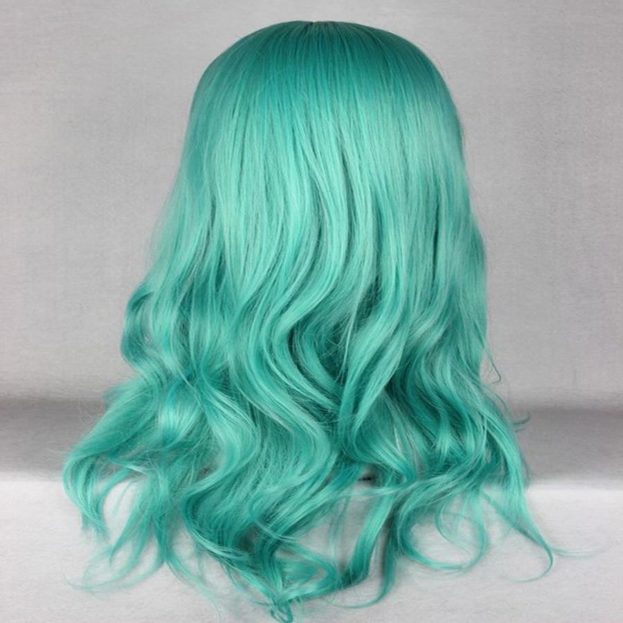 HAIRJOY Synthetic Hair Zipper 70cm Long Wavy Harajuku Lolita Cosplay Wig 18 Colors Available 116
