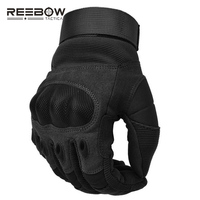 Military Hard Knuckle Tactical Gloves Motorcycle Gloves Motorbike ATV Riding Army Combat Full Finger Gloves for Men Airsoft