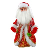 Christmas doll Santa Claus music electric Flashing Dancing doll 30cm Russian Doll gown Electric Russian Music Toy decorations