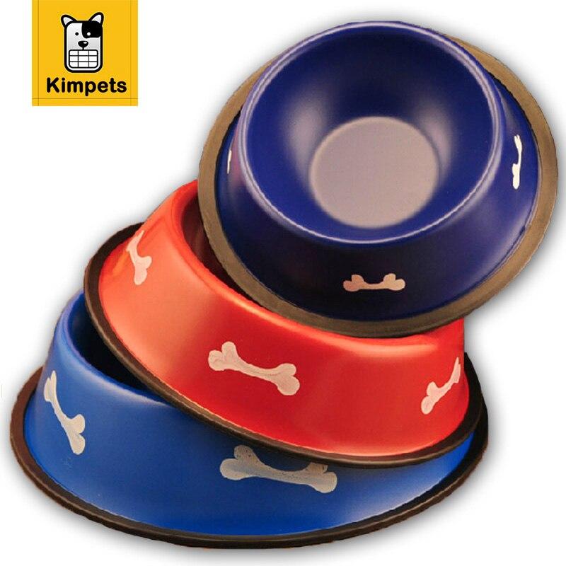 Hot Sale Pet Stainless Steel Pet Dog Cats Bowl Feeder Pet Dog Food Water Feeder Metal Cat Pet Dog Bowl