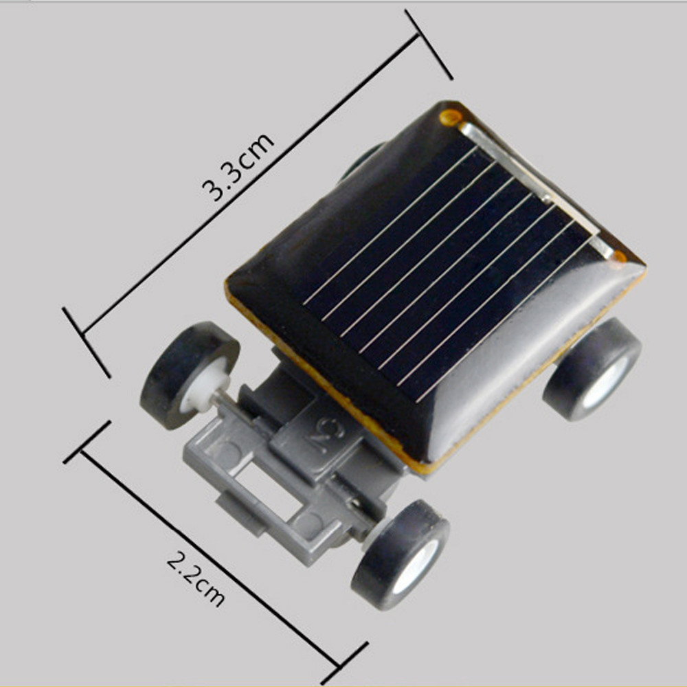 Smallest Mini Solar Power Toy Car 13