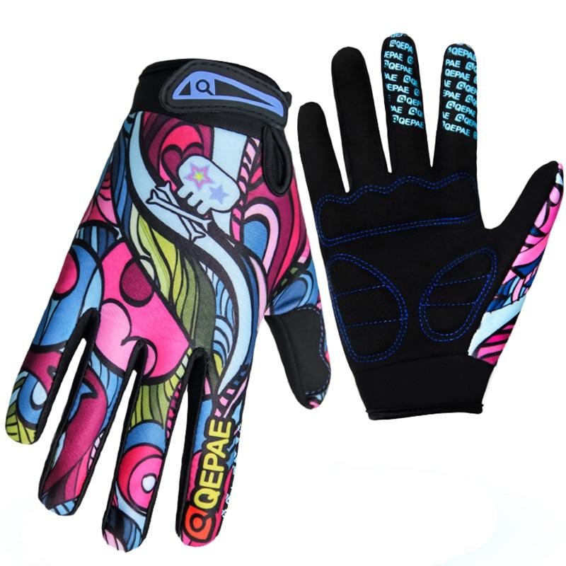 Εκτύπωση νέας οθόνης ζεστό γέλο με επικάλυψη αδιάβροχο ανθεκτικό υψηλής ποιότητας MBT γάντια ποδηλασίας χειμώνα μακρύ δάχτυλο γάντια μοτοσικλέτας