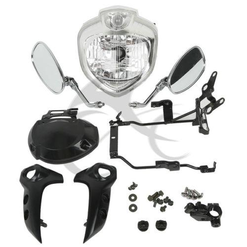 Image 2 - Motorcycle Headlight kit Head Light Assembly For Yamaha FZ6 FZ6N 2004 2006 2005