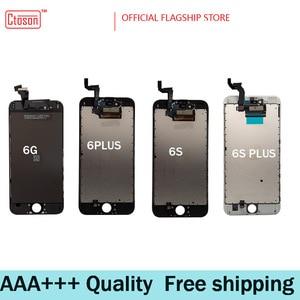 Image 2 - 5 יח\חבילה 100% AAAA מקורי LCD מסך עבור iPhone 6S בתוספת מסך LCD תצוגת Digitizer מגע מסכי החלפת צגי LCD dhl