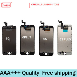 Image 2 - 5 PCS/LOT 100% AAAA Original LCD Screen For iPhone 6S  Plus Screen LCD Display Digitizer Touch Screens Replacement LCDS dhl