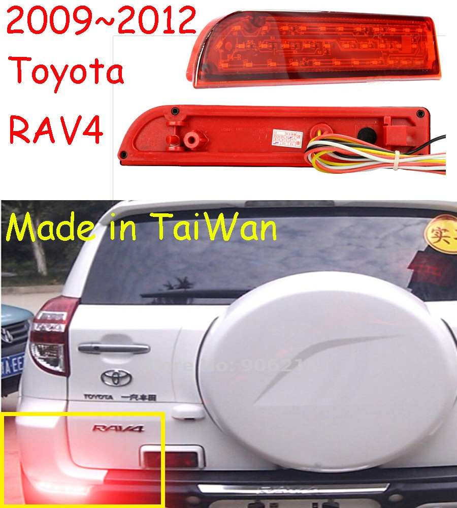 car-styling,RAV4 Breaking light,2009~2012,led,Free ship!2pcs,RAV4 rear light;car-covers,RAV4 tail light,Chrome,RAV 4 car styling rav4 taillight 2009 2012 led free ship 4pcs set rav4 fog light car covers chrome car detector rav4 tail lamp rav 4