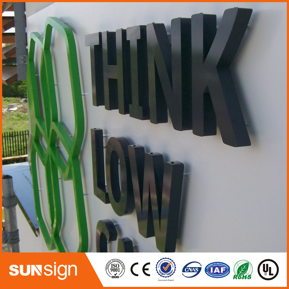 Wholesale Stainless Steel Channel Letters