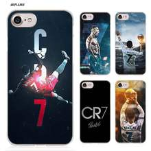 5c4741d352 BiNFUL Cristiano Ronaldo CR7 Football ard Plastic Clear Case Cover Coque  for iPhone XS Max XR X or 10 6 6s 7 8 Plus 5s SE 5 4s 4