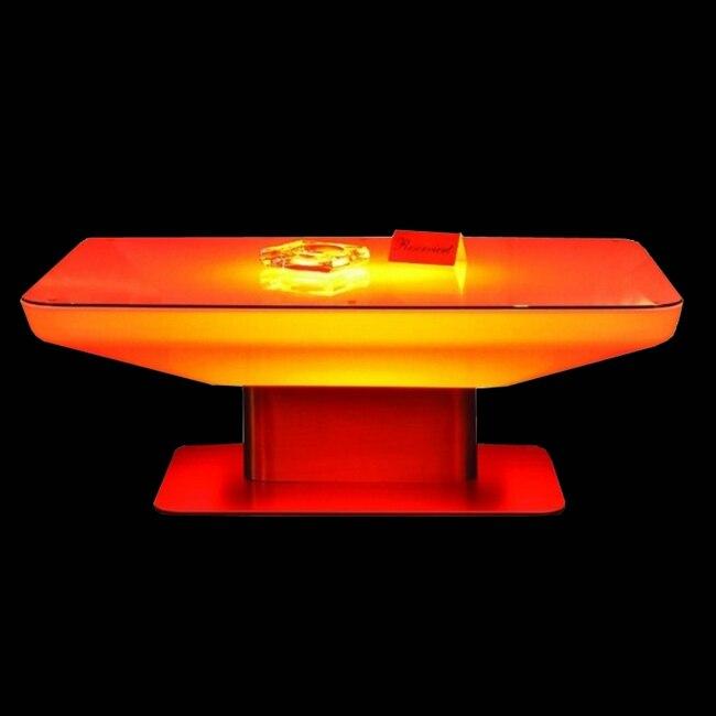 Перезаряжаемые свет бар журнальный столик RGBW Цвет изменение коктейльный столик с подсветкой sk-lf22 (L88 * w54 * h46cm) 2 шт./лот ...