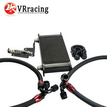 VR RACING-2015 NEW BLACK OIL COOLER KIT FOR HONDA S2000 OIL COOLER KITS VR1090BK