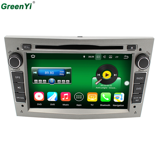 4G LTE Car DVD Android 7.1.2 For Opel Vectra Zafira A B C Corsa Astra Meriva Antara Quad Core 2GB RAM GPS Navigation Radio BT