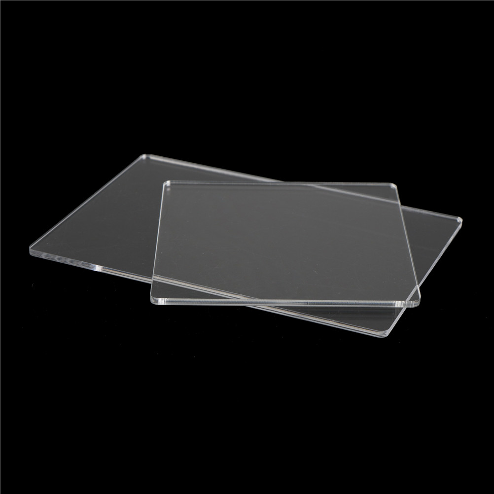 Perfect Acrylic Transparent Clay Pottery Sculpture Tool Workbench Pressure Plate Clay Tools Size S/L(China)