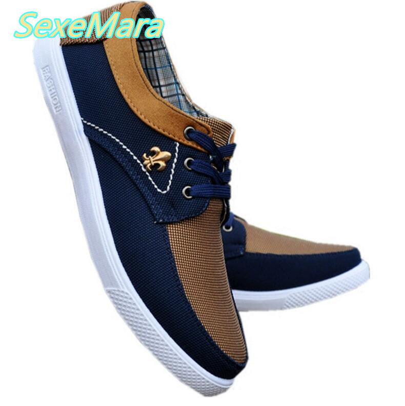Mens Casual Shoes Men Brown Men Shoes 2017 Spring Autumn Driving Flats Fashion Lace Up Shoes Men Canvas Shoes Zapatillas Hombre men shoes men s flats 2017 new spring autumn fashion comfortable canvas men s for man casual shoes zapatillas hombre plus size
