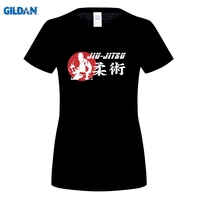 Gildan Summer Print Brazilian Judo Karate Jiu Jitsu T Shirt Womens Brand Clothing Print Cotton O