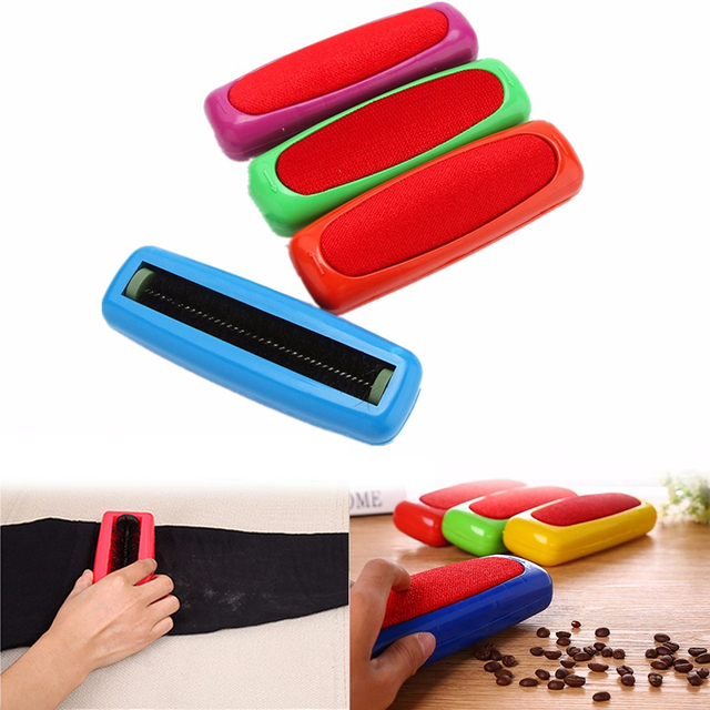 Plastic Sweeper Carpet Table Car Seat Single Dirt Hand Cleaner Roller Desktop Cloth Carpet Cleaning Tools for House Clean