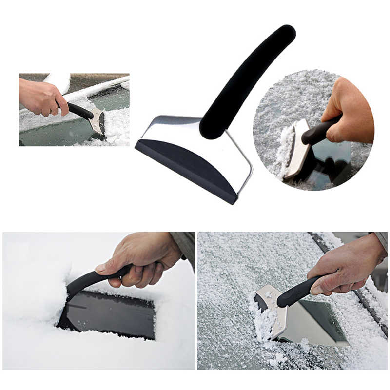 Wysokiej jakości ABS ze stali nierdzewnej, [[snowplow] usuwania awaryjnego łopata do śniegu zima śnieg szkło film łopata kuchnia łazienka czyste