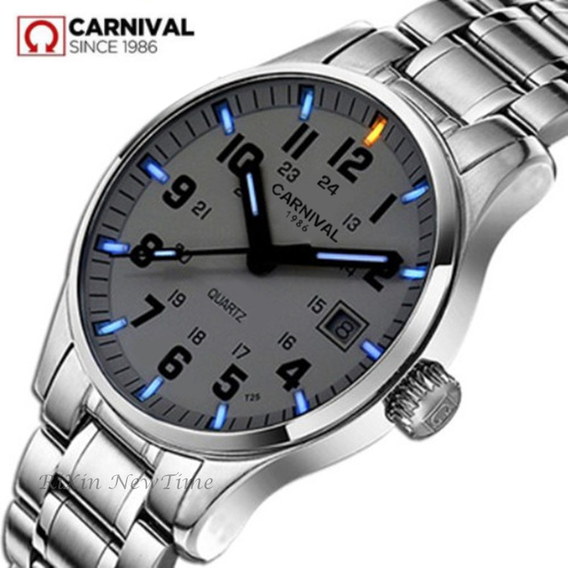 Tritium Luminous Diving Sports Luxury famous Brand Mens Fashion Quartz Watches military full steel genuine leather relogio watch цена