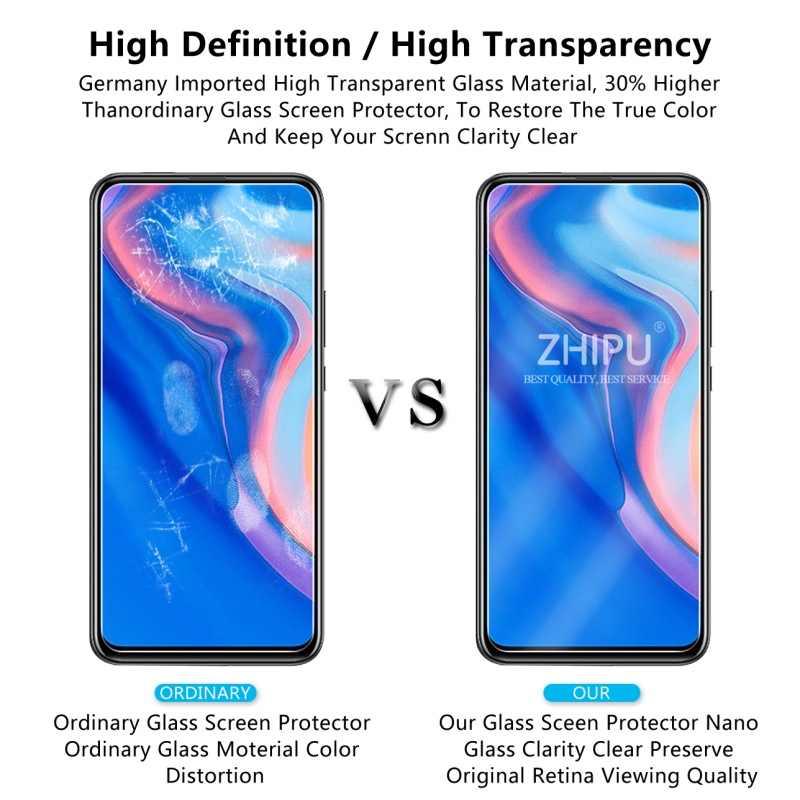 2 قطعة الزجاج المقسى لهواوي Y9 Prime 2019 واقي للشاشة 2.5D 9H الزجاج المقسى لهواوي Y9 Prime 2019 طبقة رقيقة واقية