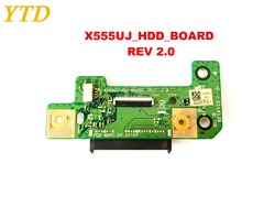 Oryginał dla ASUS X555UJ HDD pokładzie X555UJ_HDD_BOARD REV 2.0 testowane dobra darmowa wysyłka