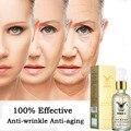 Super Anti Arrugas Anti Envejecimiento Colágeno 24 k Oro Esencia Líquido Ácido Hialurónico Hidratante Cuidado de La Cara Crema Para Blanquear La Piel