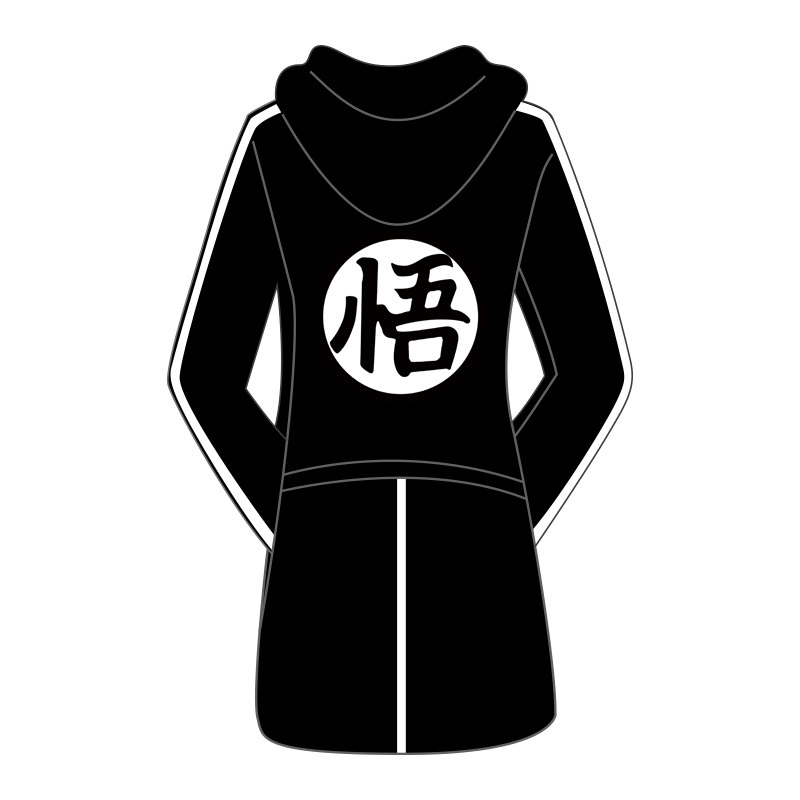 Hiver hommes Dragon Ball à capuche vestes Anime son goku Cosplay coupe-vent manteau japonais dessin animé Dragon Ball Trench D82101