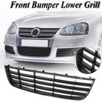 Front Car Bumper Lower Grilles Mesh Grill Assembly For VW for Jetta GTI GLI MK5 2006 2007 2008 2009 2010 1K0853677C