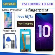 Kiểm Tra 5.84 Cho Huawei Honor 10 Honor 10 Màn Hình Hiển Thị LCD + Tặng Bộ Số Hóa Cảm Ứng Thay Thế + Vân Tay COL L29
