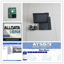 RCOBD alldata auto repair software 10.53V Mitchell and alldata software plus ATSG Car repair data in x200t laptop ready to work