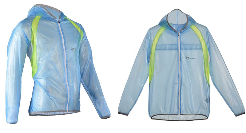ROCKBROS Waterproof Cycling Jersey breathable Jacket Jersey Windproof Coat Clothing MTB Reflective Bike Road Raincoat RK0019 (10)