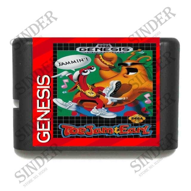 ToeJam & Earl - Sega Mega Drive For Genesis