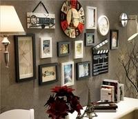 vreative fine wood frame in nostalgic style used for home decoration DIY photo frame