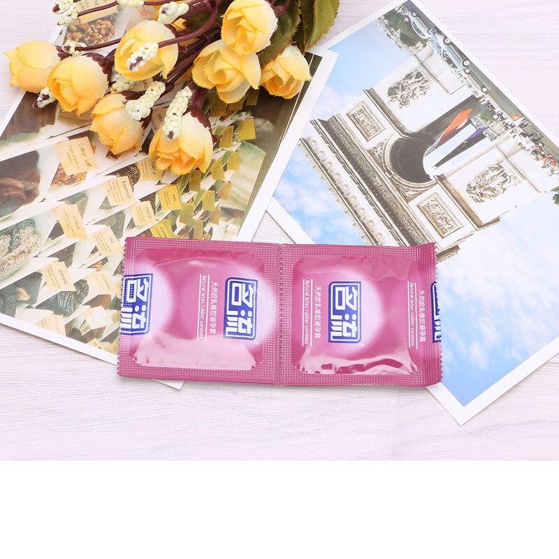 24Pcs 6 Types Men Condoms Sexy Product Latex Condom Delay Ejaculation Adult Toys