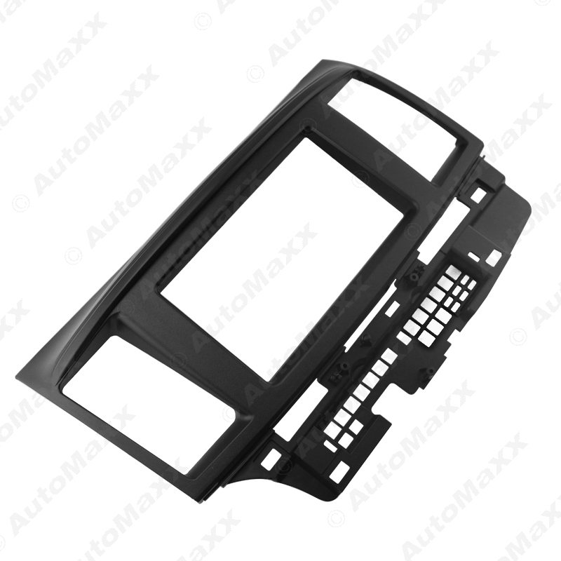 Black Car 2DIN Refitting DVD Frame DVD Panel Dash Kit Fascia Radio Audio frame for Mitsubishi Fortis and Lancer #J-2736