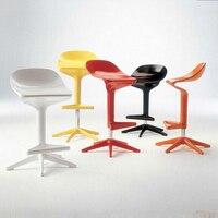 Новый ложка барный стул, Европейский подъема, модные Бары Мебель, моды барный стул, цвет, красный, белый, черный, желтый барный стул