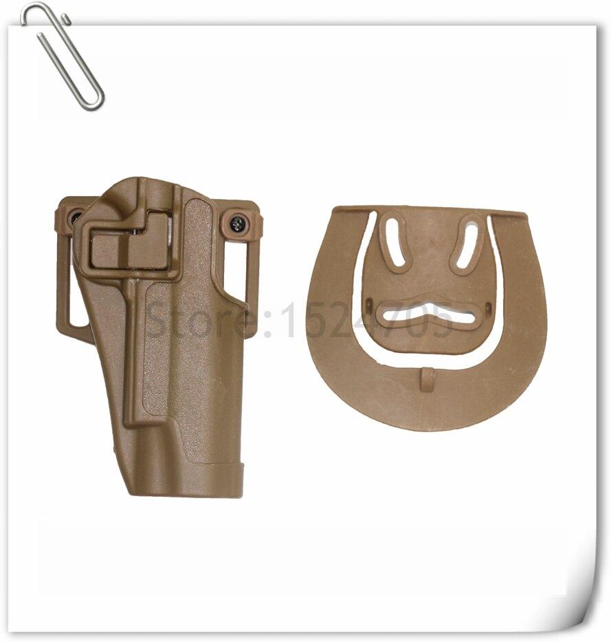 CQC Funda de Pistola Pistola de Airsoft Caza Táctico Cinturón Holster 1911 Pisto