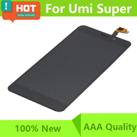 For Umi Super LCD Display Touch Screen Digitizer 100 Tested LCD Screen Glass Panel Super Free